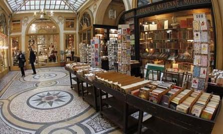 A Paris bookshop