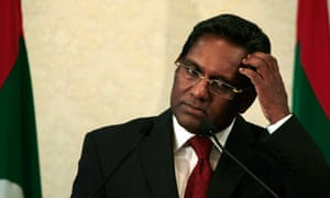 Maldives newly elected President Mohammed Waheed