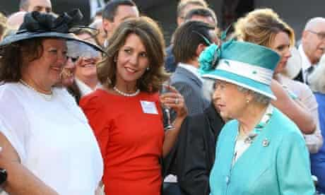 Gina Rinehart and the Queen