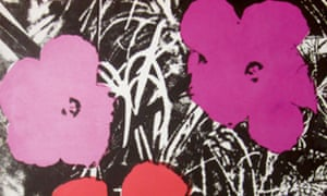 Andy Warhol's Flowers, Gunter Sachs collection, Sotheby's
