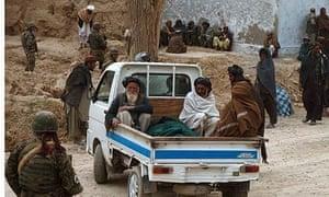 Afghan shootings