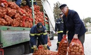 Athens potatoes self-help