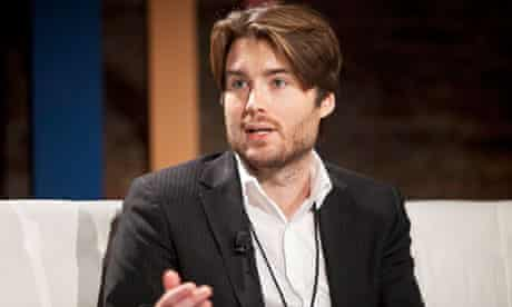 Pete Cashmore, founder of Mashable