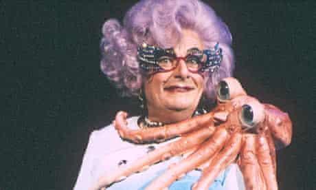 Dame Edna Everage, Barbican Theatre, London, 1988