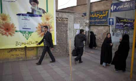 Iranians prepare for parliamentary elections