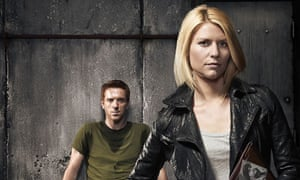 Damian Lewis and Clair Danes in Homeland