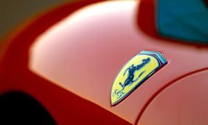 Pony Logo on 2006 Ferrari F430 Spider
