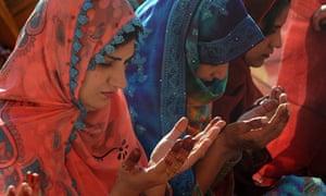 Pakistani Muslim women