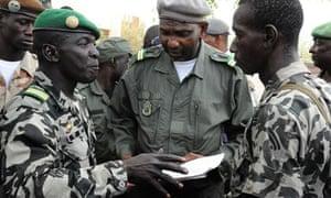 Mali coup leader Amadou Sanogo