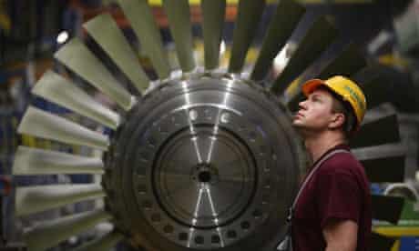 siemens worker engineer turbine