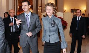 Bashar addn Asma al-Assad