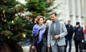 Assads in Paris
