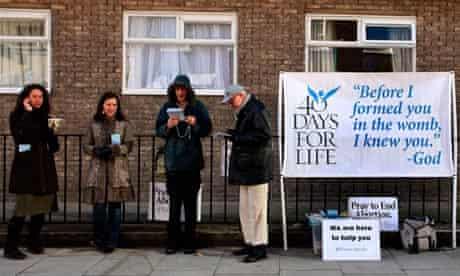 Anti-abortion campaigner