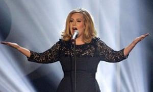 Adele moves up top seller list