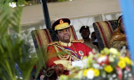 His Majesty King Mswati III, King of Swa