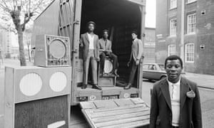 'Admiral Ken with his Box Men', Hackney 1973