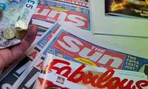 The Sun on Sunday newspaper first edition