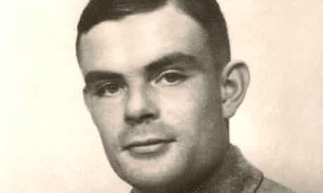 Wartime hero and mathematician, Alan Turing.
