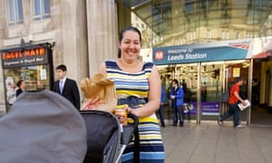Billie Belgrave at Leeds city station says people pay enough tax without VAT on hot takeaways