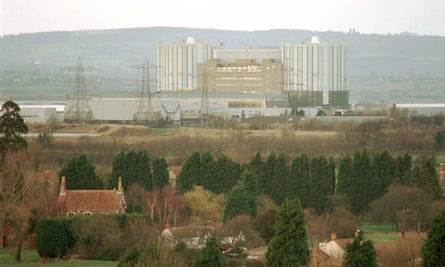 Oldbury nuclear power station in Gloucestershire