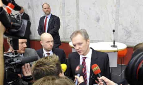 Swedish Defence Minister Sten Tolgfors