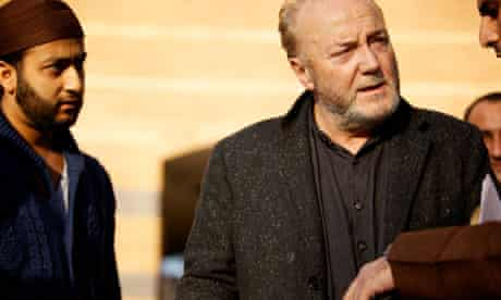 George Galloway campaigning in Bradford West