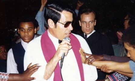 Cult leader Jim Jones
