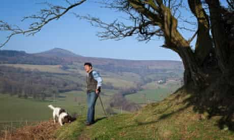 Rob Penn in the hills of south Wales
