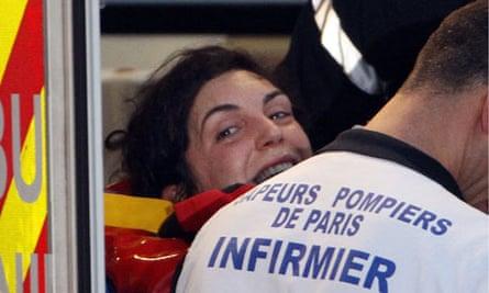 French journalist Edith Bouvie