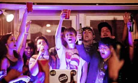 Desperate rather than rapturous … the party in Project X
