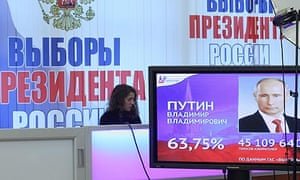 Russian Presidential elections aftermath