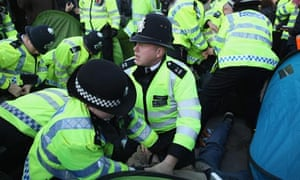 About 4,000 police officers were on duty during the 2011 student protests about tuition fees