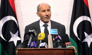 Libya's National Transitional Council chairman Mustafa Abdul Jalil