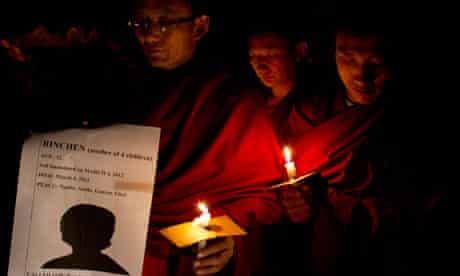 Tibet self immolations