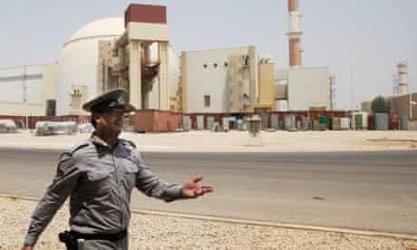 Iran nuclear power plant