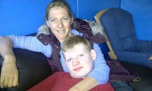 Netbuddy founder Deborah Gundle with her son Zach