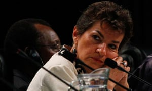 UNFCCC secretary Christiana Figueres at the Durban climate change conference in Durban