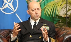 Admiral James Stavridis was targeted by cyber-spies on Facebook