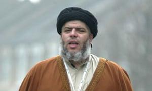 Radical Muslim cleric Abu Hamza al-Masri