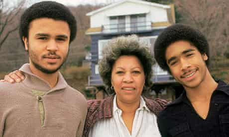 Toni Morrison and sons