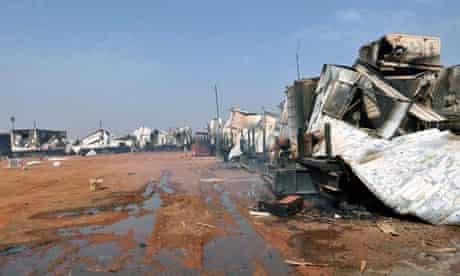 Sudan clashes in Heglig
