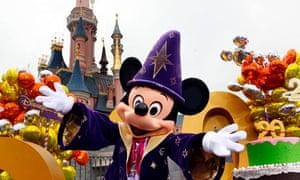 Mickey Mouse helps launch Disneyland Paris's 20th birthday