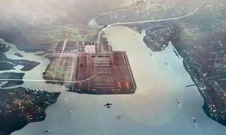 Architect's view of Thames Hub