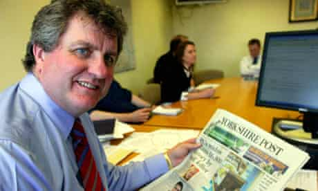 Peter Charlton, editor of the Yorkshire Post