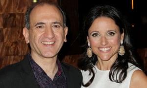 Armando Iannucci and Julia Louis-Dreyfus