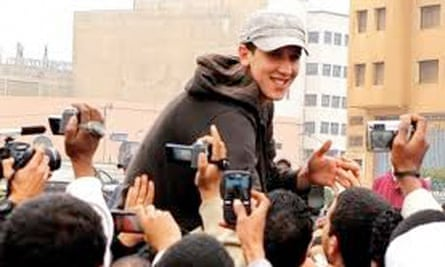 Moroccan rapper Mouad Belghouat is released from prison