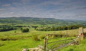 A view of the Bowland Basin from Longridge Fell in the Ribble valley