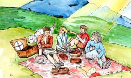 Tuck in … the Famous Five
