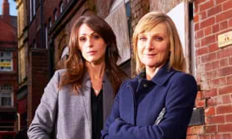 Partners in crime … Bailey (Suranne Jones) and Scott (Lesley Sharp)