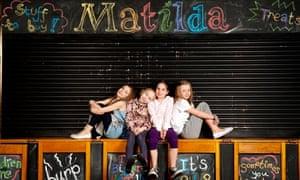 Matilda musical girls